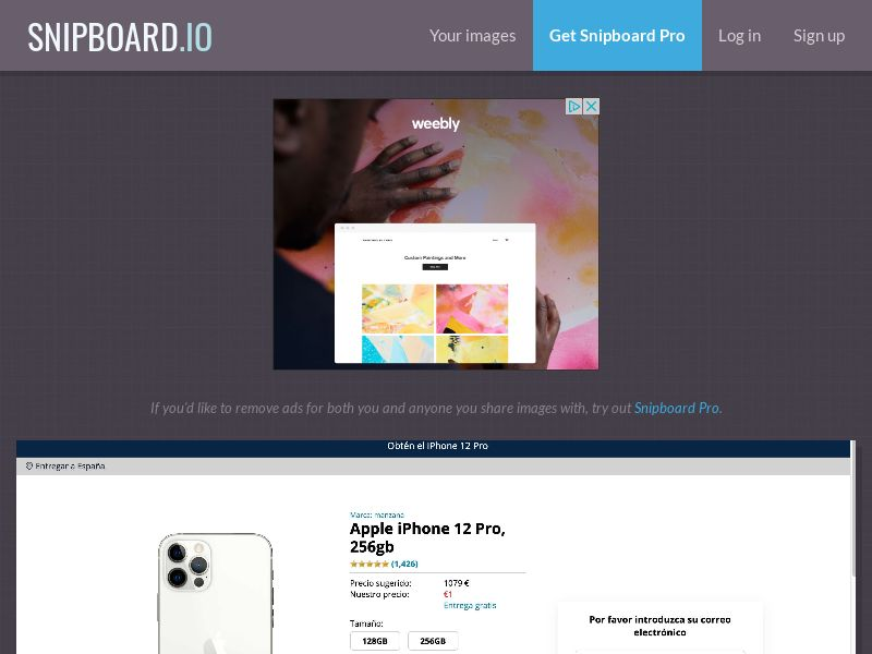 40858 - ES - CreditSupport - iPhone 12 Pro - Amazon - CC submit
