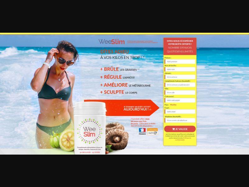WeeSlim - Diet & Weight Loss - Trial - [FR]
