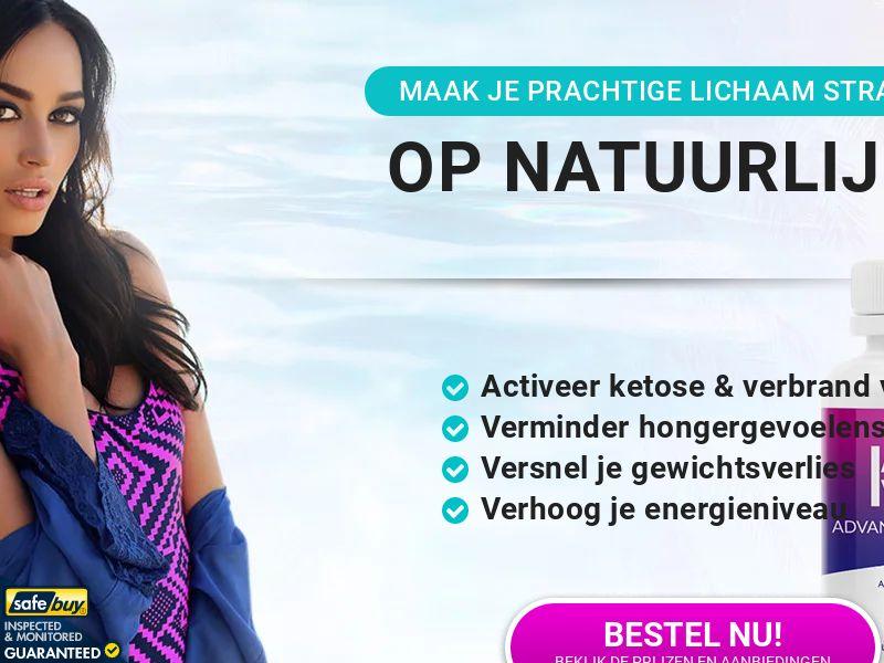 Keto Advanced Fat Burner LP02 (Dutch)