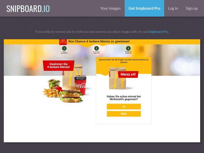 36419 - DE - WildLeads - McDonald's - SOI