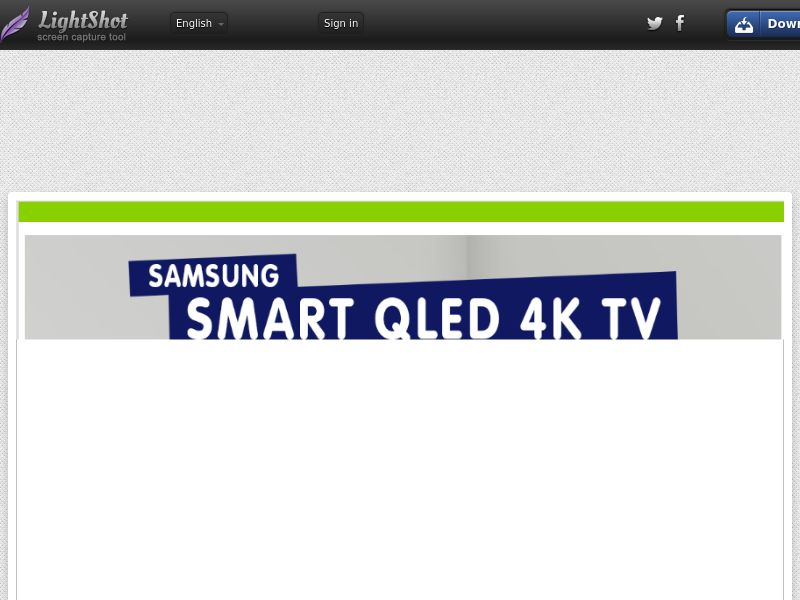 Samsung QLED TV (Sweepstake) (CC Trial) - Finland [FI]