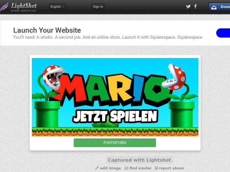 Super Mario [CPA] (2click) (All carriers) (All) DE - Mainstream