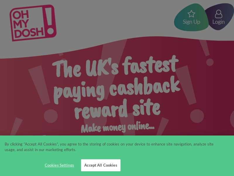 OhMyDosh! - Make Money Online SOI [UK] (Native,Email,Social,Mobile,Display) - CPL {Subid Approval Required}