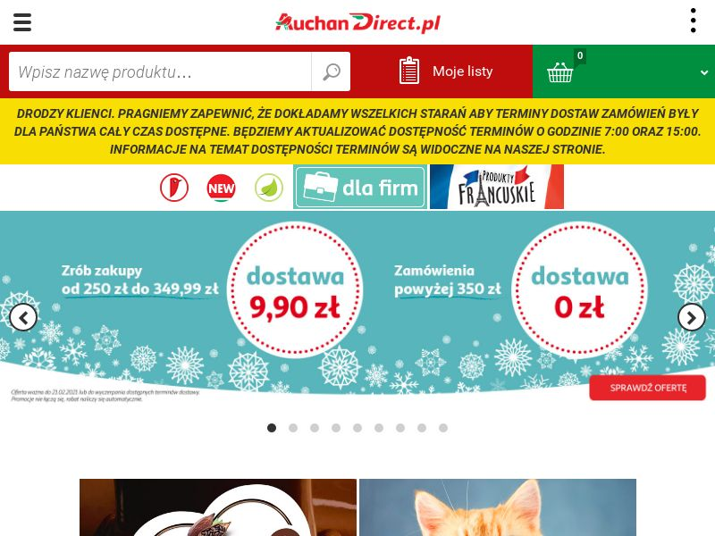 Auchan Direct (PL), [CPA], Health and Beauty, Food, Sell, coronavirus, corona, virus, keto, diet, weight, fitness, face mask