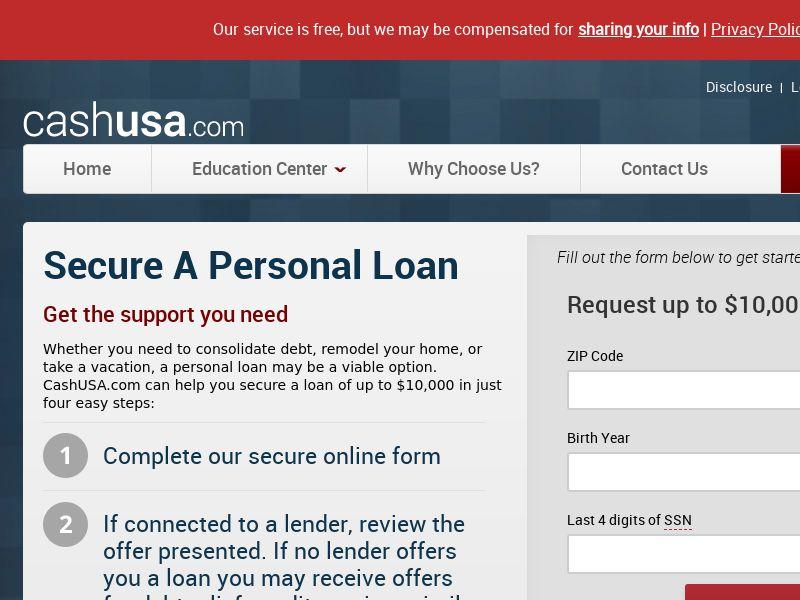 *Private* CashUSA [US] (Email) - RevShare