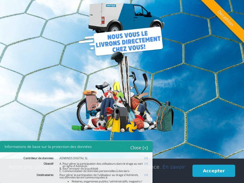 Decathlon 300 euro voucher - FR (FR), [CPL]
