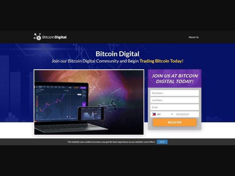 Bitcoin Digital - $250 min CTC - VSL - Crypto - SS - [50 GEOs]