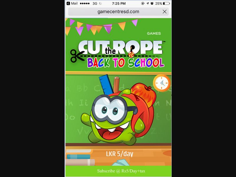 Cut the rope (LK)