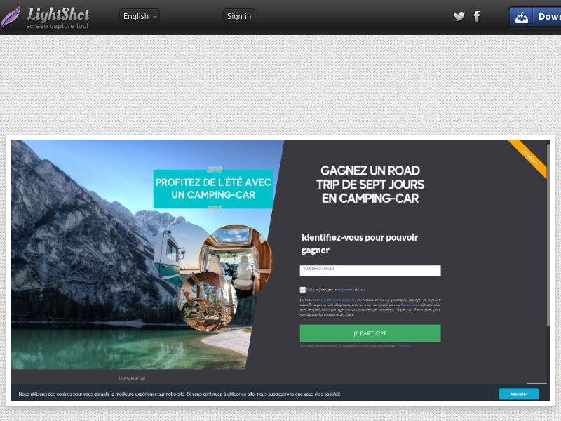 Campervan Sweepstakes - INCENT - MX