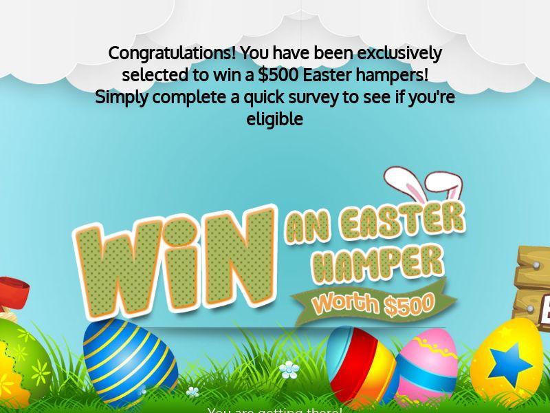 9933) [WEB+WAP] Easter hamper - AU - CPL