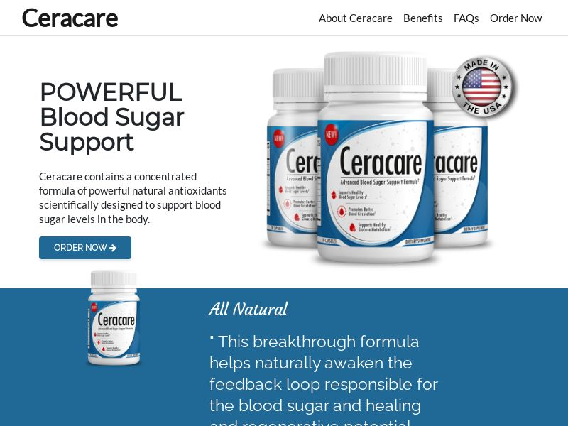 Cera Care (INTL) (CPS) (Personal Approval)