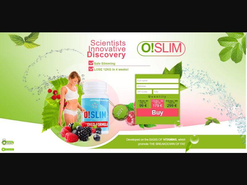 O!Slim - Diet & Weight Loss - SS - [MT]