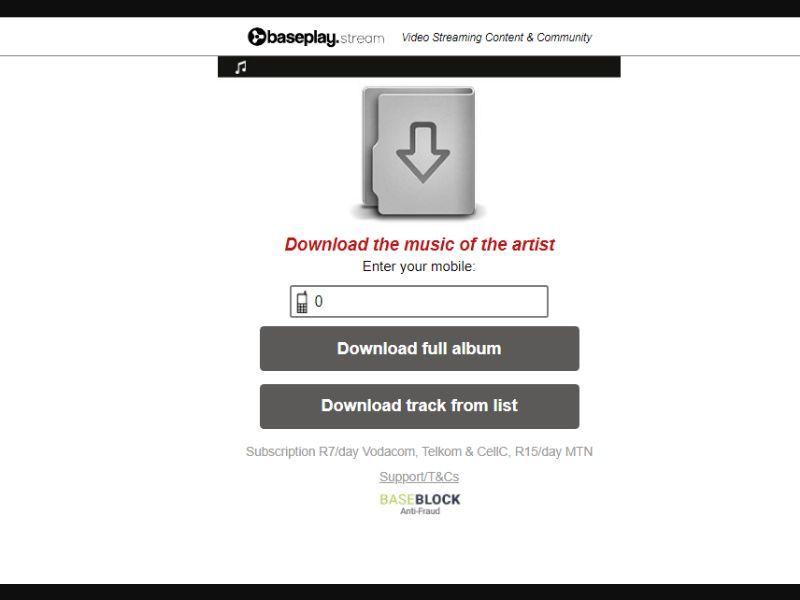 Download Music [ZA] - 2 click
