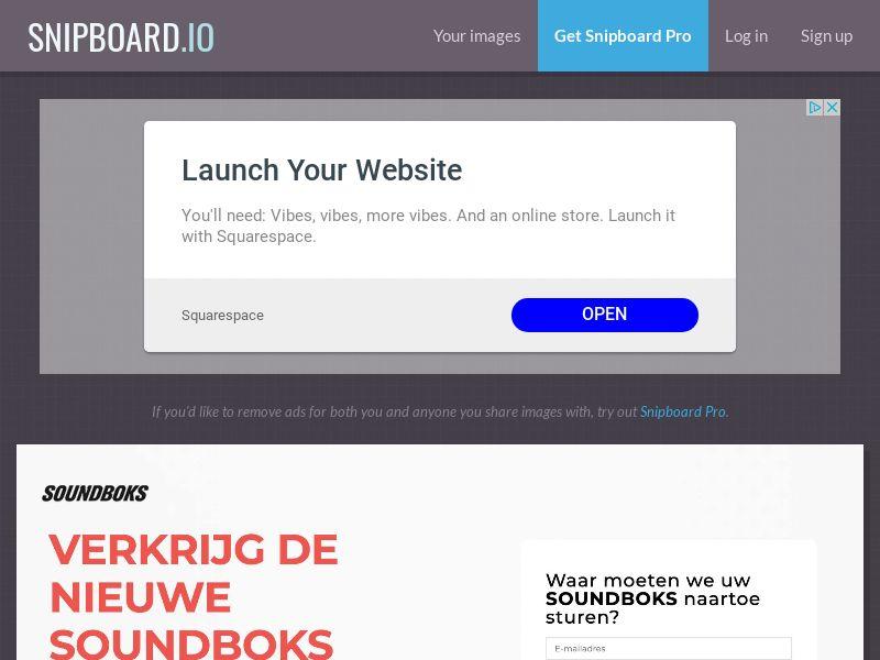 CoreSweeps - Soundboks Speaker SE - CC Submit