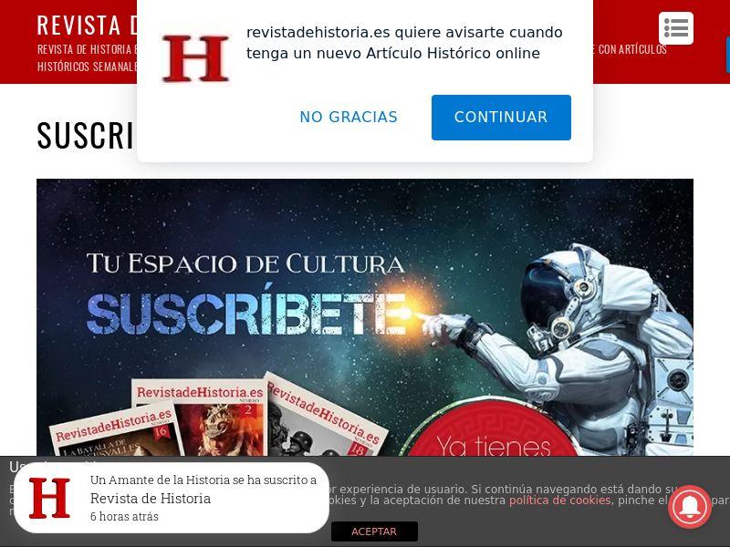 Revista de Historia - ES (ES), [CPS]