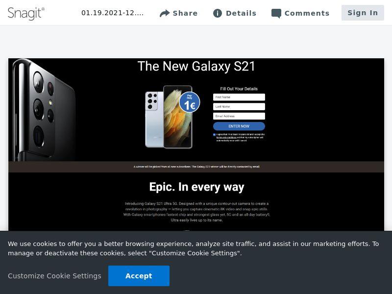 uWin Samsung S21 | US