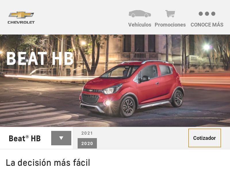 Descubre Chevrolet BEAT -MX