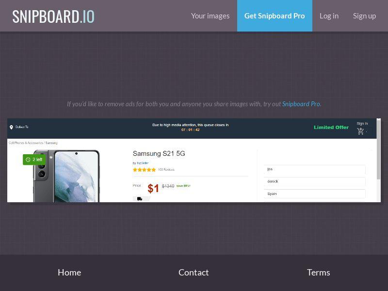 39986 - US - OrangeViral - B - Win a Samsung S21 (US/)- CC submit