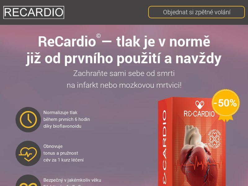 ReCardio CZ - pressure stabilizing product