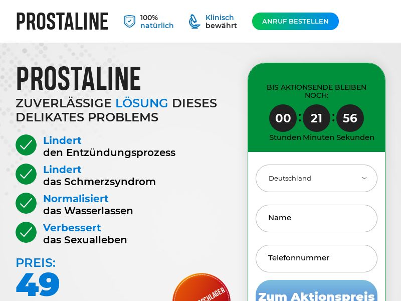 Prostaline DE