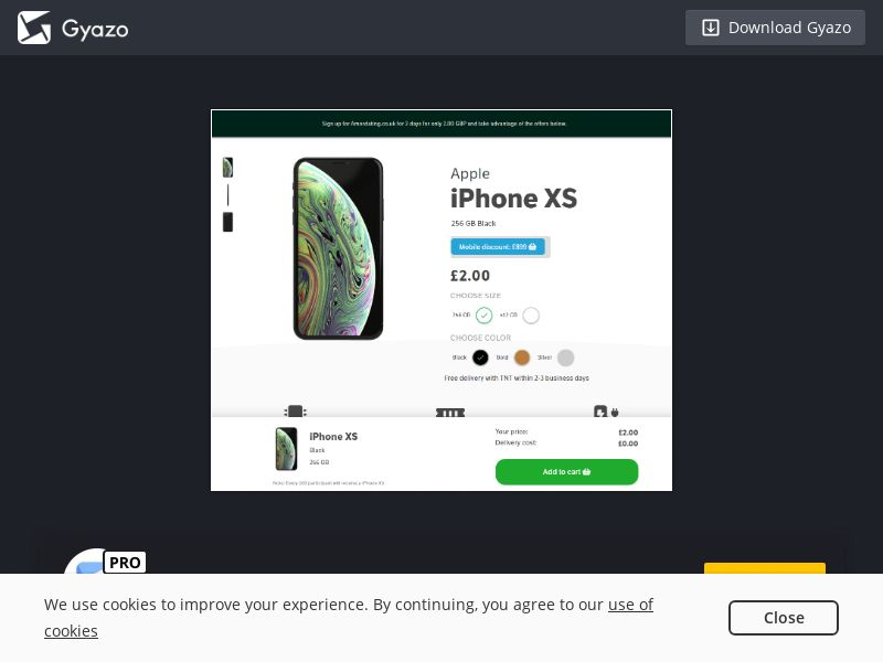 UK - Amordating iPhone XS MS - Responsive <<*PENDING*PRIVATE OFFER*>>