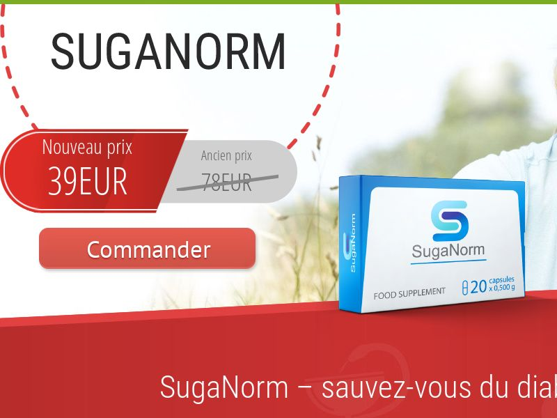 SugaNorm FR - sugar control supplement