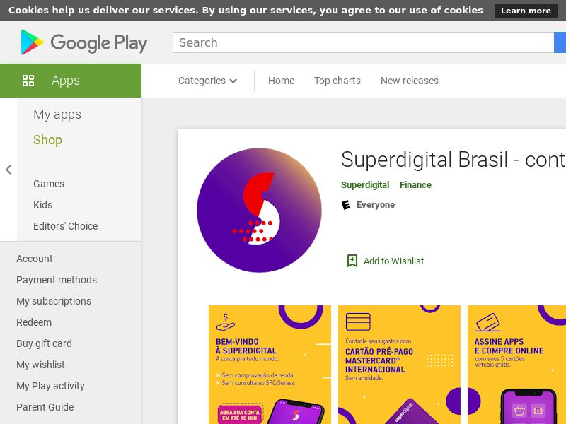 Superdigital CPA (Android 5.0+) BR - Non incent