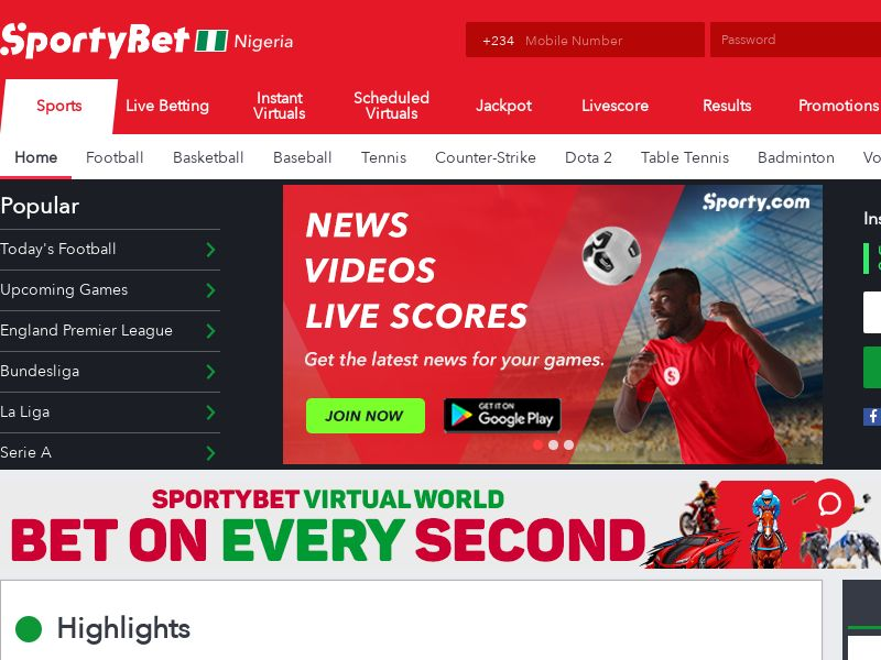 SportyBet - Sports Betting (NG) (CPS)