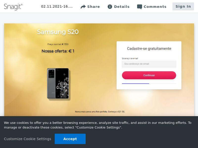 AllYouCanWin Samsung S20 | PT