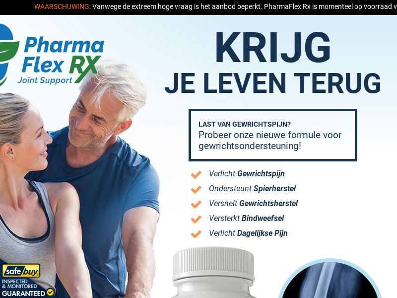 PharmaFlex RX- Dutch [NL] (Social,Banner,PPC,Native,Push,SEO,Search)(No Email) - CPA