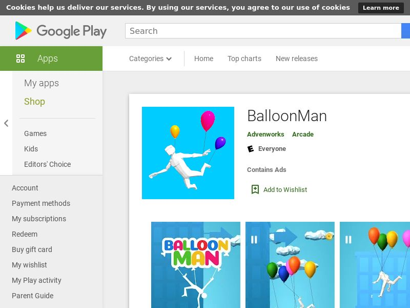 BalloonMan Android (Level 100) CPE