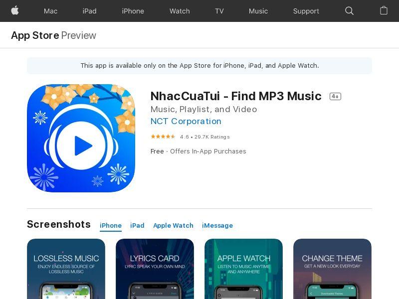 NhacCuaTui - Find MP3 Music