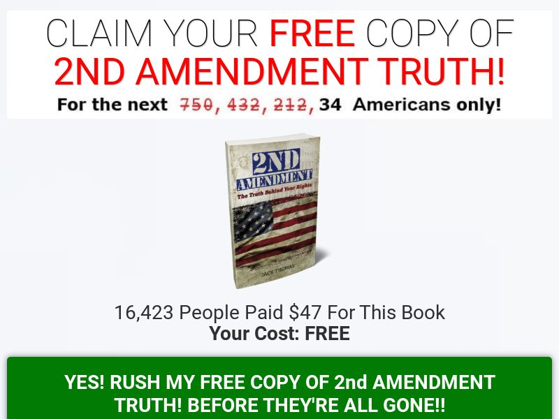 2nd Amendment Truth [US] (Email,Native,Social,Banner,Search) - CPA