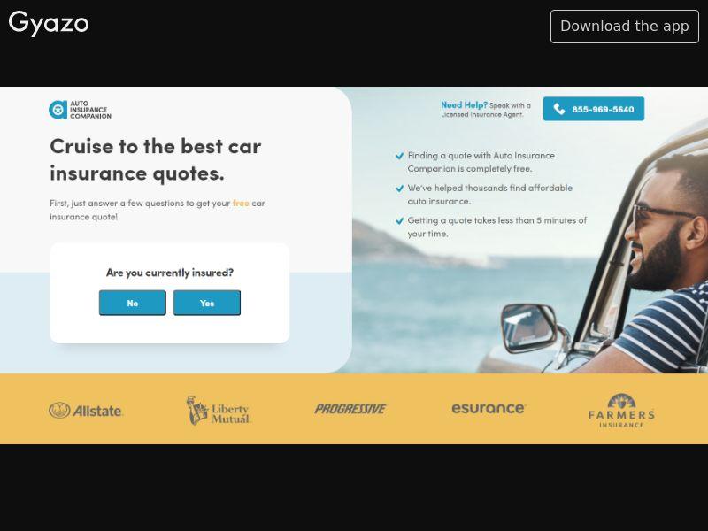 Auto Insurance Companion US   CPA
