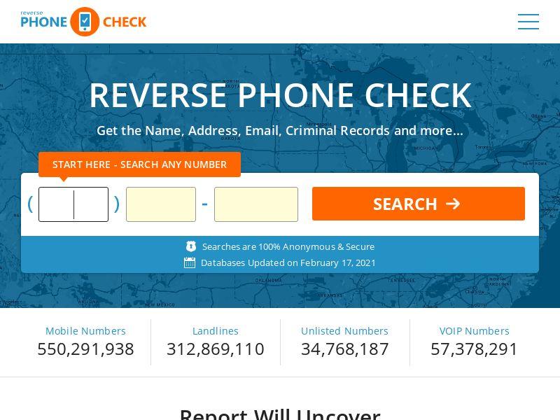 Reverse Phone Lookup - Reverse Phone Check (US)