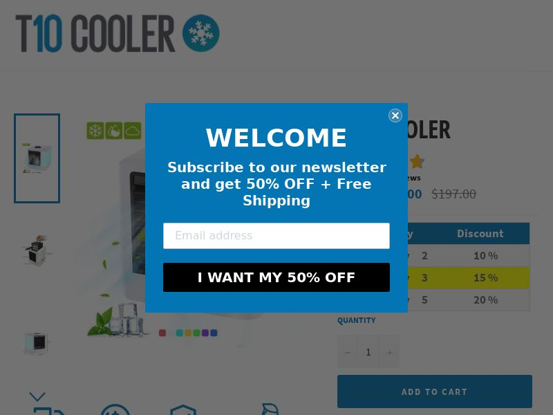 T10 Cooler (PPS) - eCommerce - Multi Geo