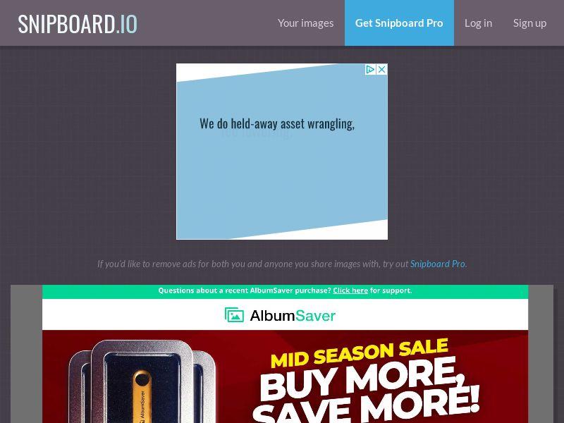 40197 - UK - US - Album Saver (Desktop product) US/UK - SS