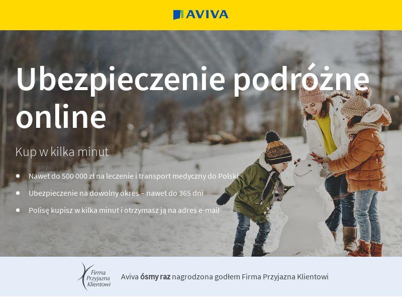Aviva - Ubezpieczenie turystyczne (PL), [CPA], Business, Insurances, assurance, security, safe