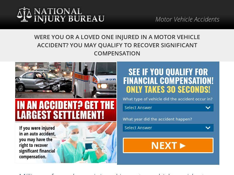 Motor Vehicle Accident - National Injury Bureau (US)