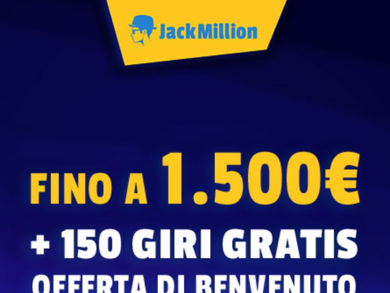 Jack Million - Casino - IT,ES, NL - (CPA)