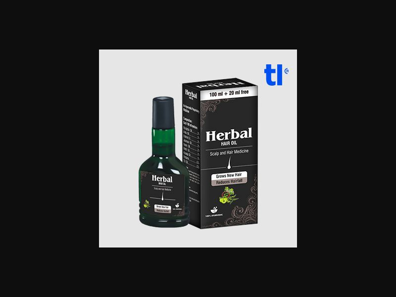 Herbal Hair Oil - beauty - CPA - COD - Nutra