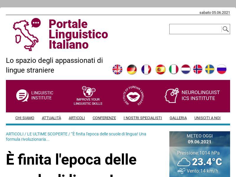 (14608) [WEB+WAP] Ling Fluent New - IT - CPA