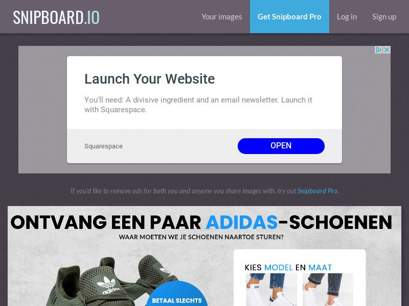 CoreSweeps - Adidas Shoes AU - CC Submit
