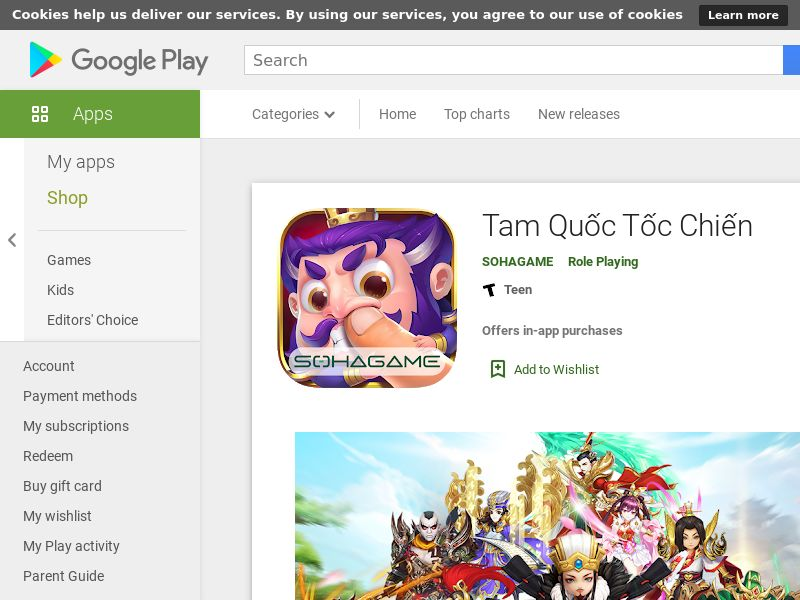 Tam quốc tốc chiến - CPI- Android - VN (hard kpi: Day 0 Regs>75%, RR>35%)