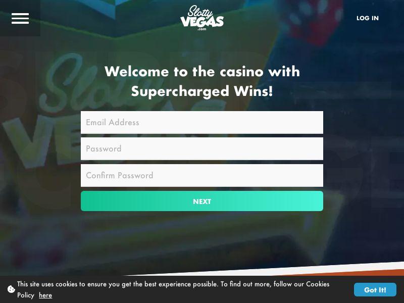 Slotty Vegas | DE, AT, NO, DK, NL, CH, JP (NEW no base)