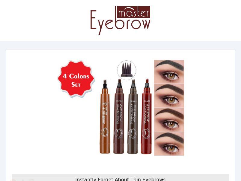 Eyebrow Master - Makeup Pencils - CPA - [INTERNATIONAL]