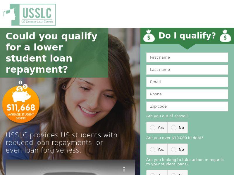 USSLC: Student Loans