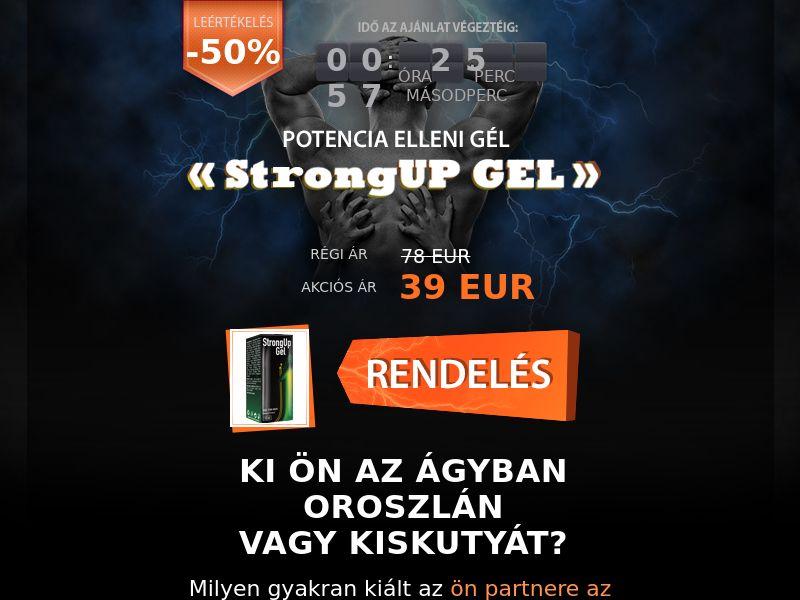 StrongUp Gel - COD - [HU]