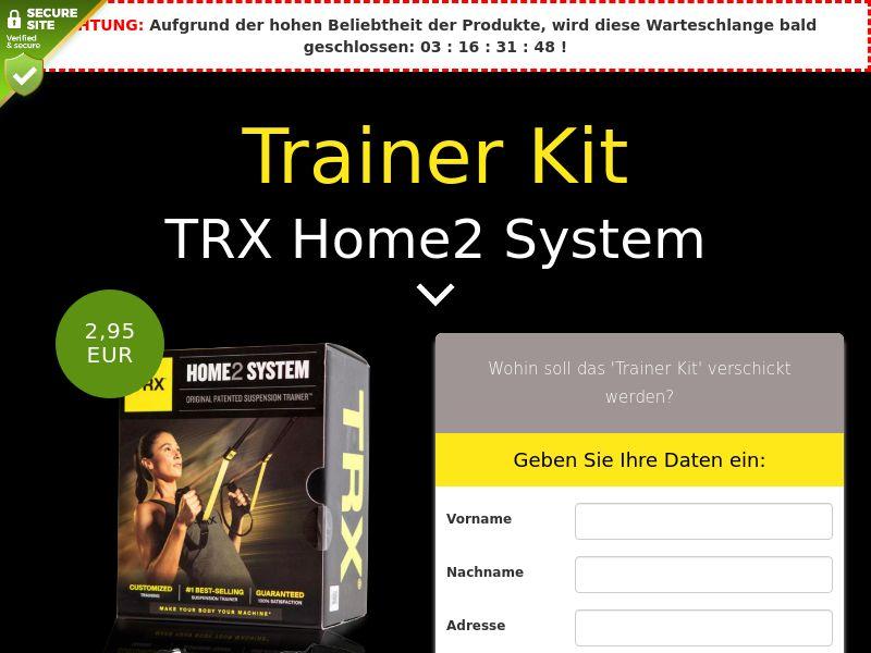 TRX Home2 System: Trainer Kit - DE