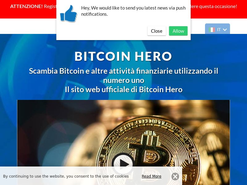 Bitcoin Hero - 2 Italian 1484